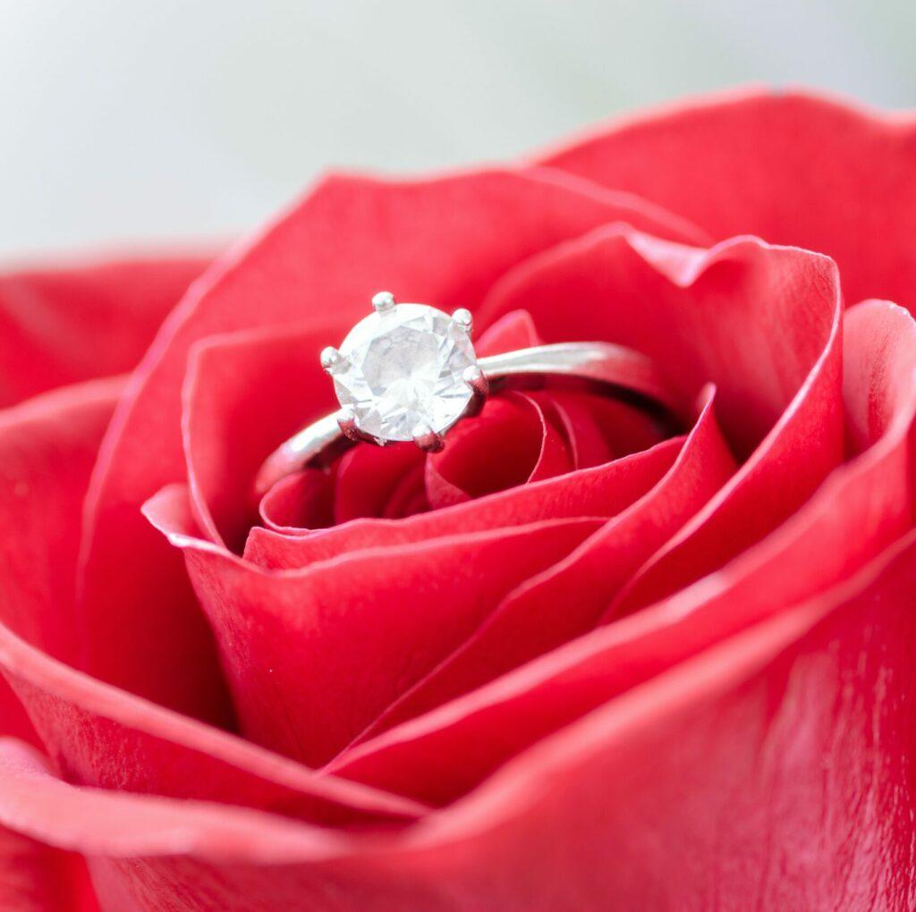 Kosten huwelijksaanzoek, kosten trouwringen