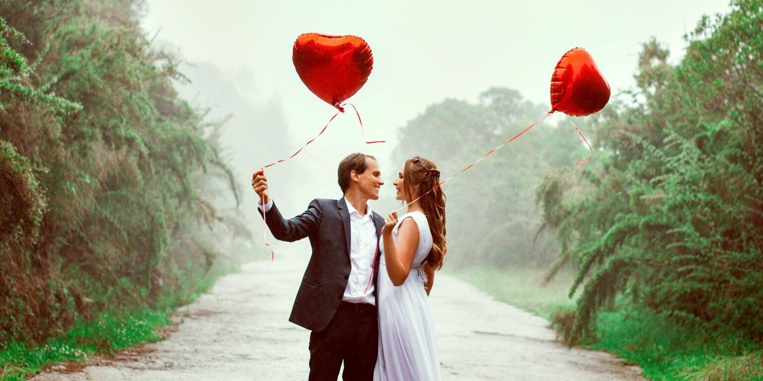 Een prachtig aanzoek op Valentijnsdag