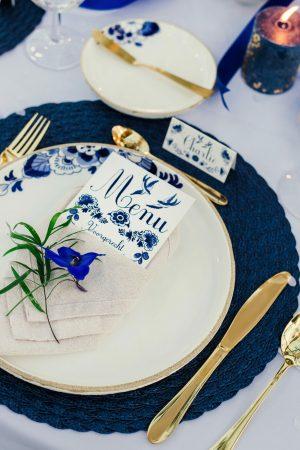 Styled shoot Delftsblauw
