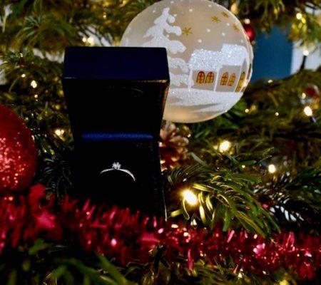 Kerst aanzoek foto